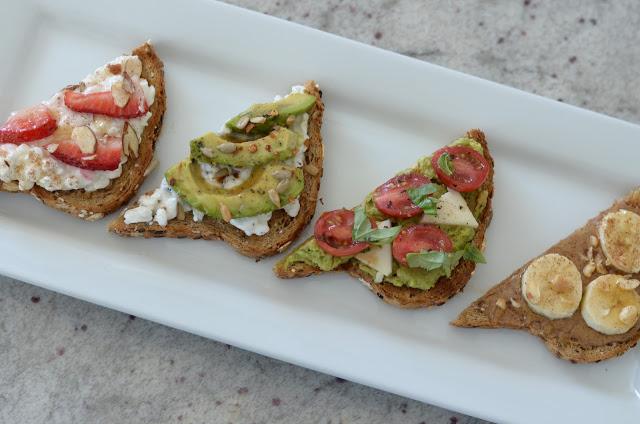 Gourmet Toast 4 Ways