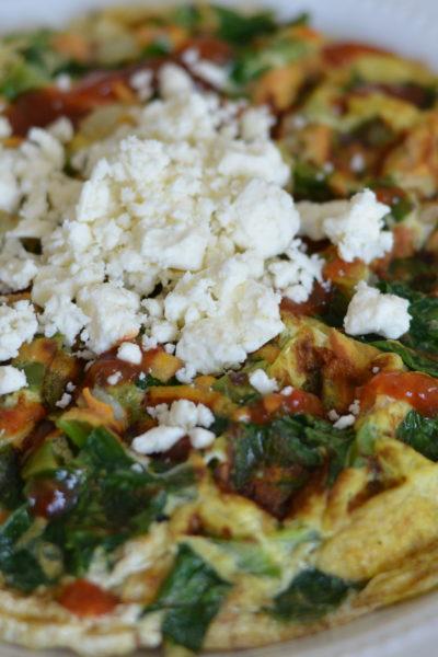 Veggie Egg Waffle
