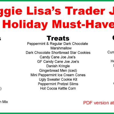 Trader Joe's Holiday Must-Haves